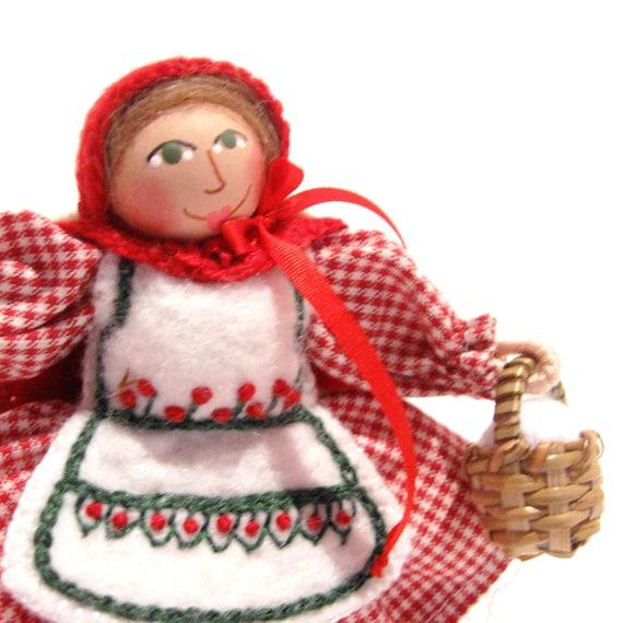 Little Red Riding Hood Art Doll