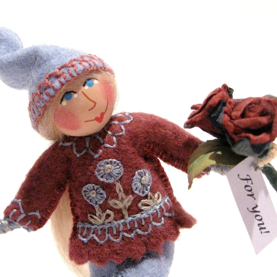 Art Doll, Roses For You Gnome