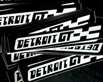 detroitGT sticker