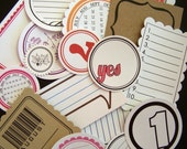 ALL MIXED UP New and Improved Assorted Surprise Pack of Tags/Embellishments