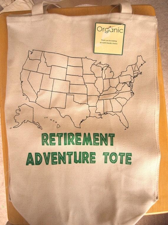 Retirement Adventure Tote - Canvas