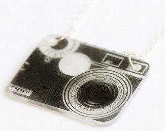 Argus Camera Necklace - SALE