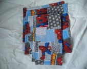 Set of 4 Flannel Baby Wipes
