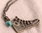 Converse Necklace