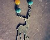 I Love You Deer Necklace