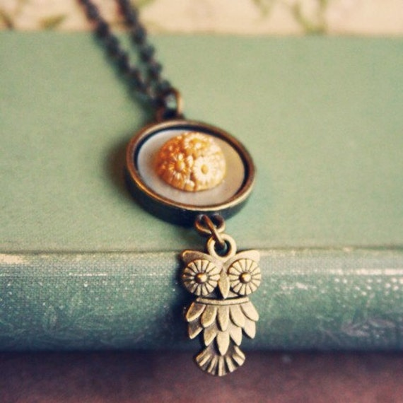 The Golden Owl Necklace