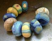 Van Gogh Starry Night Disk Beads