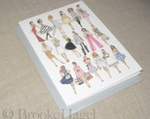 Fashion Illustration Card