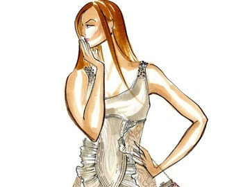Bridget Fashion Illustration