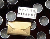 Will you marry me. necklace