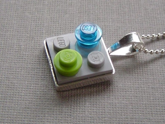 Reserved for Alisa Lego Necklace Sterling Silver on sale