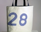 Recycled Sail Tote Bag - Light Blue number 28