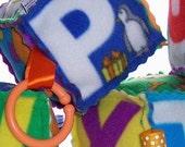 ALPHA-BLOCKS - Soft Plush Toys - Play Blocks - Alphabet Blocks - Spelling Blocks for Children