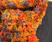 Multi-color Fun and Fuzzy Scarf