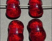 Fused Glass Cherry Drops (4)