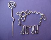 SHEEP SHAWL pin wirework