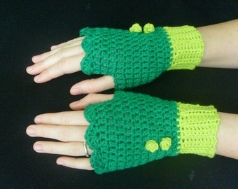 PATTERN for crochet hand warmers       PATTERN ONLY