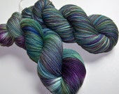 Hand Painted Superwash Merino/Nylon 4-Ply Sock Yarn -- Tide Pool (Batch-2)