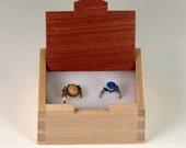 Ring Box Mahogany Maple