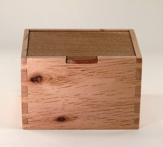 Wooden Box Knotty Oak
