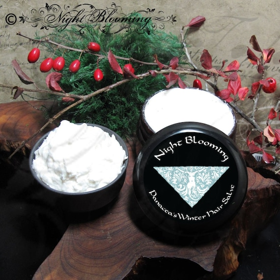 Panacea's Hair Salve- Winter Blend Treatment  2oz
