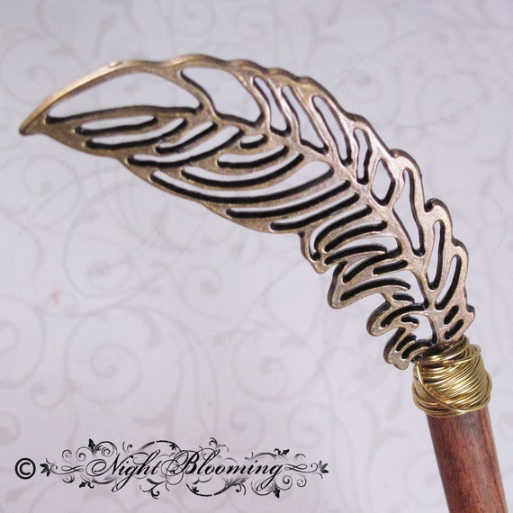 Tomekeeper of Heaven Angelic Quill Hair Stick