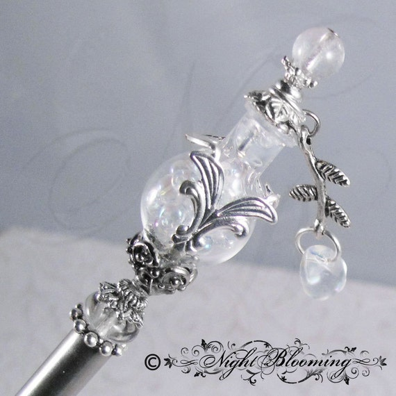 CUSTOM ORDER for rebeccastimmler- The Light of Elendil Lord of the Rings Hairstick