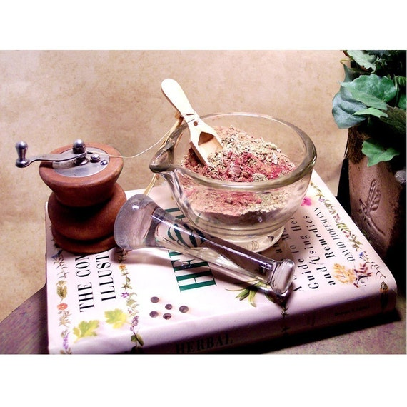 Your Blend- Custom Mixed Herbal Hair Treatment