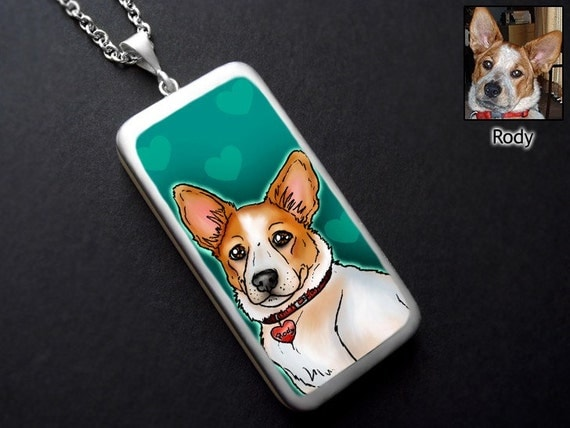 CUSTOM ART PENDANT - Your dog, cat or exotic pet