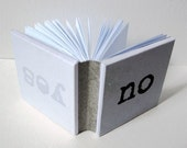 Little book about Two choices -Blank minibook