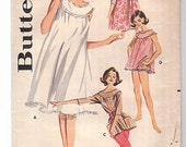 Vintage Butterick Nightgown Pattern bust 40
