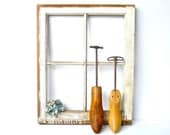 Antique Shoe Stretchers His and Hers Wedding Photo Display