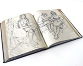 Anyone Can Draw 1939 Illustrated Drawing Book