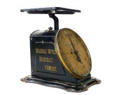 Antique Marshall Wells Hardware Company Advertising 24 Pound Scale