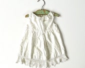 Antique Toddler Girl Slip Dress
