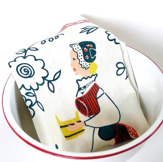 Eva Taimi Linen Tea Towel from Finland