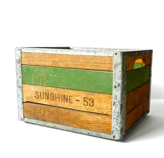 Sunshine Dairy Crate 1953