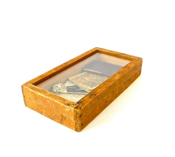 Vintage Wood Display Box