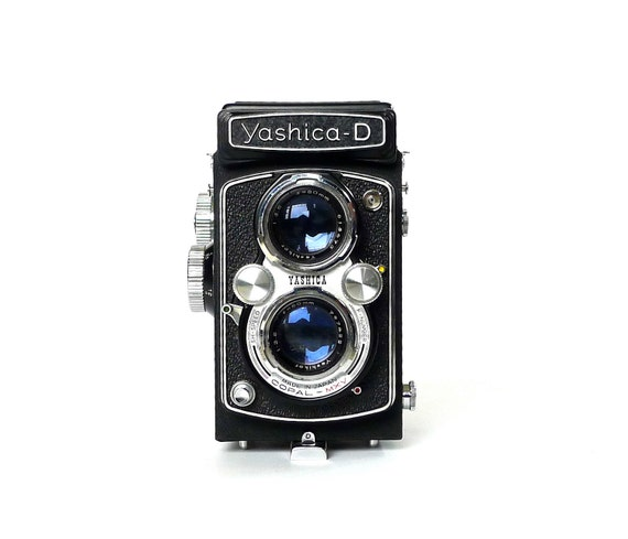 Yashica-D 6x6 120 Film Camera AS IS