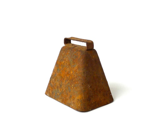 Vintage Rusty Cow Bell