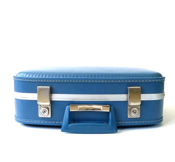 Small Blue Carry On Suitcase