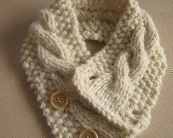 Two Neck Warmer Knitting Patterns