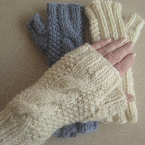 Knitting Pattern January Mitts