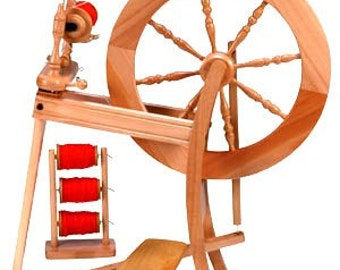 New Ashford Traditional Single Drive Spinning Wheel Unfinished