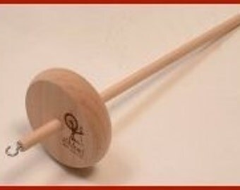 Ashford Student Drop Spindle With Wool Roving