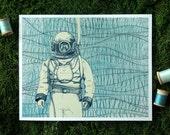 Deep Sea Diver 8x10 print