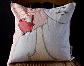 Messenger Bird Pillow Cover