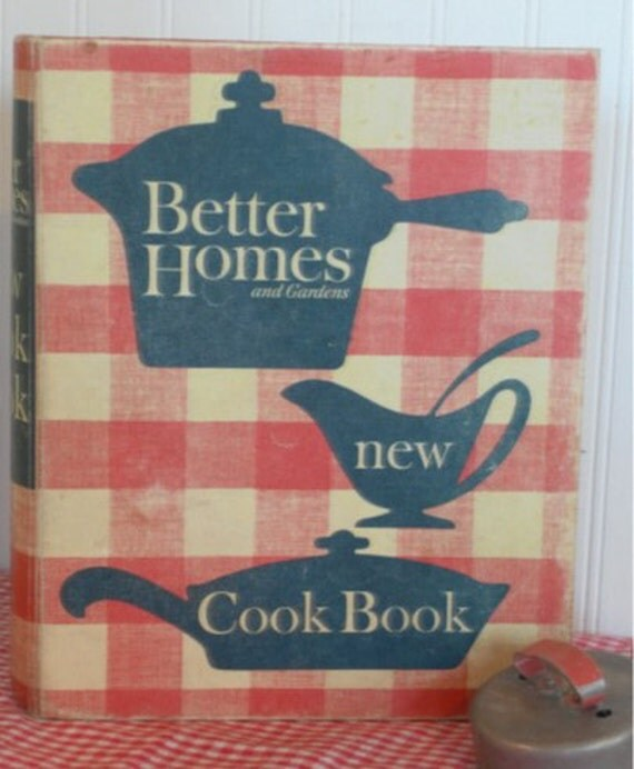 Vintage Better Homes And Garden New Cook Book 1960 39 S