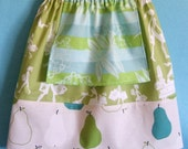 pampered pear - apron skirt