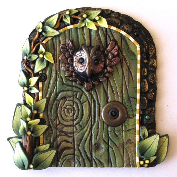 Wise Owl Fairy Door